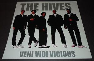 THE HIVES~Veni Vidi Vicious~Promo Poster Flat~12x12 Double Sided~NM Cond~2000