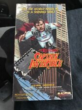 The Return Of Captain Invincible VHS TESTED ~ 1988 Magnum Release ~ FREE S/H