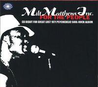 MILT MATTHEWS INC – FOR THE PEOPLE Fantastic Voyage 2010 CD US PSYCH SOUL M Shr