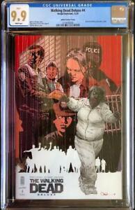 Image Comics Walking Dead Deluxe #4 Charlie Adlard Variant Cover CGC 9.9 MINT