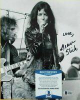 Grace Slick signed 8x10 photo autographed JEFFERSON AIRPLANE WOODSTOCK Bas