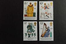 GB MNH STAMP SET 1976 British Cultural Traditions SG 1010-1013 UMM