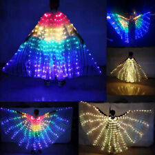 Fairy wings LED isis wings Festival LED dress belly dance cosplay prop wings