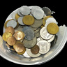 Lot Of 65 Mixed Old Israel Coin - Sheqel Lira Sheqalim Pruta Israeli Coins Money