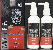 1 x Morr-F 5% Hair Regrowth FDA Approved DHT Blocker (60 ml) Free Shipping