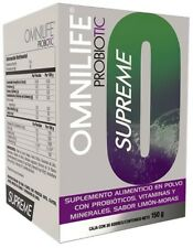 OMNILIFE PROBIOTIC SUPREME LEMON-BERRY FLAVOR  FREE SHIPPING & SAMPLES
