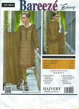 Bareeze Lawn Cotton Embroidered Unstitched Pakistani Indian ladies suit mehndi