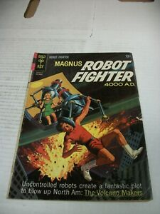 Gold Key MAGNUS ROBOT FIGHTER #12 November 1965