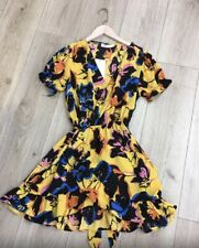 Vestido Floral de dlsb Nuevo tamaño S UK 8-10