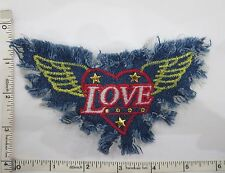 Appliques Embroidery Patch Sew Craft, Denim Applique Patch, Motif Jean Denim 2pc