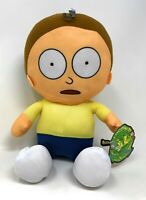 "Rick and Morty 10"" Plush (Morty) Official License Toy Factory NWT"