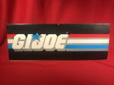 Hasbro Vintage GI Joe Store Display Sign Art Memorabilia 15 X 5.5 in. ARAH Cobra