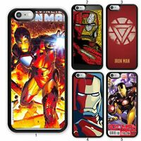 IRON MAN Avengers Comic Case Cover For Samsung Galaxy 10 / Apple iPhone 11 iPod