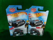 2018 Hot Wheels NIGHTBURNERZ #8/10 Morris Mini Magnus Walker Urban Outlaw 2 Cars