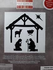 First Edition Nativity Build a Scene Christmas Die Set FEDIE190X17