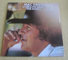 Mac Davis Stop and Smell the Roses  Pre-owned PC 32582 Stereo