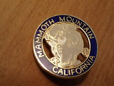 SKI RESORT HAT PIN-Souvenir/Travel/Snowboard/Skiing-MAMMOTH MOUNTAIN, CALIFORNIA