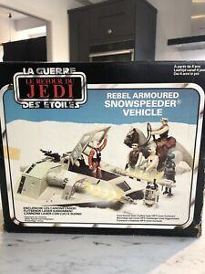 Star Wars Vintage Snowspeeder - Complete In Box
