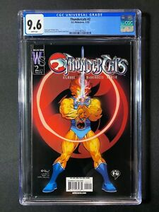 Thundercats #2 CGC 9.6 (2002) - RARE 1 of 8 CGC 9.8 copies - New Movie planned!