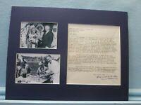 FDR's Secretary of the Interior - Harold Ickes & his autograph