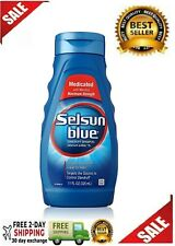 New Selsun Blue Medicated With Menthol Dandruff Shampoo 11 Oz.