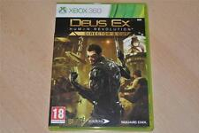 Deus Ex Human Revolution Director's Cut XBOX 360 GB PAL jouable sur Xbox One
