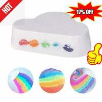 Rainbow Cloud Bath Shower Bomb Skin Care Essential 100G HQ N3G8