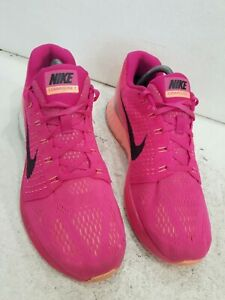 Ladies Lunarglide 7 Pink Trainers Size UK 7.5/42 Good Cond