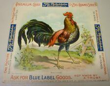 1910's Philadelphia Confections E31 Zoo Caramel Animal Series Advertising
