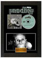 Framed Poster Prodigy Giltered Generation Signed Display Disc CD Picture
