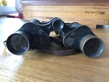 WWI-WWII Antique Bausch & Lomb, Military Stereo 6 x 30. Binoculars.