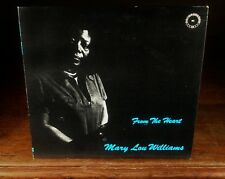 MARY LOU WILLIAMS «From the Heart»`71 CHIAROSCURO LBL Classic Bop Solo Piano«NM-
