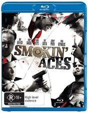 Smokin' Aces (Blu-ray, 2010) Brand New & Sealed