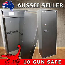 10 GUN KEY LOCK GUN SAFE, RIFLE, SHOTGUN SAFE CAT A & B FIREARMS - SCORPION