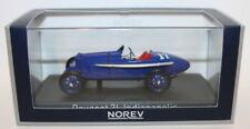 Modellini statici di auto da corsa blu NOREV scala 1:43