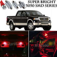 7pcs 5050 SMD Red LED Interior Lights Bulb Package Kit For Ford F150 2004-2008