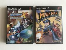 Megaman X Collection & Anniversary Collection PS2 Great Condition