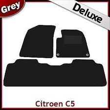 CITROEN C5 Mk1 2001-2007 Totalmente a Medida De Lujo 1300g Alfombra Coche Tapetes Gris