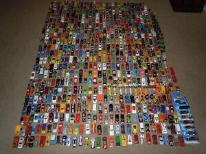 Large 650+ Lot Vintage Hot Wheels Matchbox Tomy Lesney Die-Cast Cars Redline