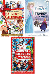 Storybook Advent Calendar Marvel Disney Frozen Countdown to Christmas 2020