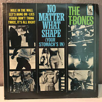 """THE T-BONES - No Matter What Shape (Your Stomach Is In) 12"""" Vinyl Record LP - EX"""