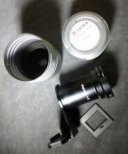 Leica Digicopy 4.3 18620 Slide Copier and Adapter Plate for Leica 4.3 Camera.