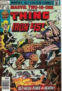 MARVEL TWO-IN-ONE #25 - Back Issue (S)