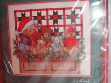 Nip Diseños para la Aguja Kit de Punto de Cruz #1986 Navidad Traditions