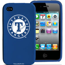 Tribeca FVA4204 iPhone 4 and 4S Silicone Case with Texas Rangers Logo