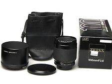 Carl Zeiss macro-Planar T * 100mm f2.8 AE Boxed F. CONTAX-EXCELLENT -
