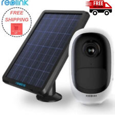 Reolink Argus Pro with Solar Panel Power Charging Rechargeable Battery WiFi
