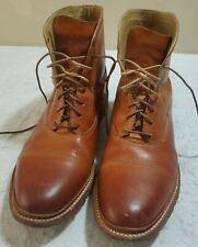Fyre James Bal Lug Mens Boots Size 13D Style 87941 TAN