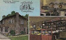 Fireside Candies in Gatlinburg TN Postcard