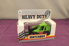 Matchbox Heavy Duty 1990's #61 Folk Lift Truck